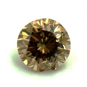 0.24 Round Brown Diamond No Cert