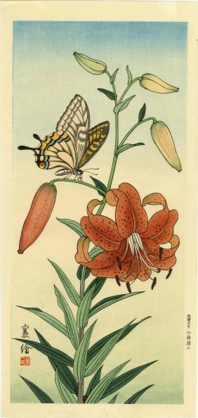 Jo (hashimoto Yzuru) - Butterfly And Tiger Lily - 1930s