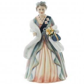 Royal Doulton Figurine Hm Queen Elizabeth The Queen