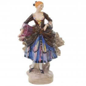 "Royal Doulton Figurine Shepherdess Hn735, H. 7"""