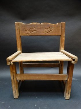 Spanish Colonial New Mexican Chair F1327