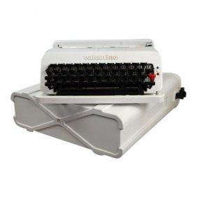 Rare Color Valentine Typewriter