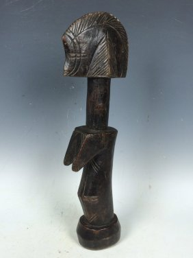 Carved Wooden Mossi Doll