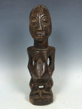 Carved Wooden Tabwa Statue