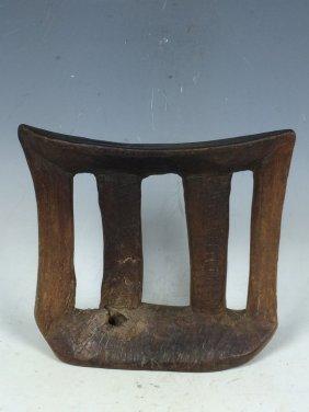 Carved Wooden Ethiopian Headrest
