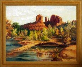 Red Rock Crossing, Ethel Irene Blandin
