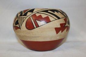 Pueblo Pottery : Very Nice Jemez Pueblo Pottery Bowl
