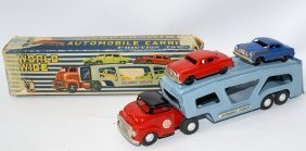 World Wide Automobile Carrier Delivery Service Truck W/