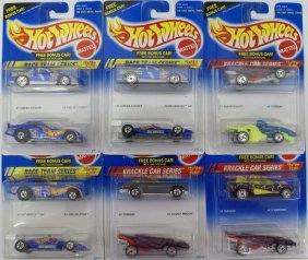1990s Hot Wheels Mixed Lot Of 12 1:64 Diecast Cars Nip