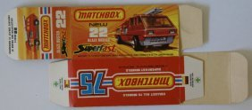 Vintage Matchbox Lesney Superfast #22 Blaze Buster