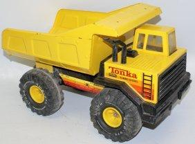 Vintage Large Pressed Steel Tonka Xmb-975 Turbo-diesel