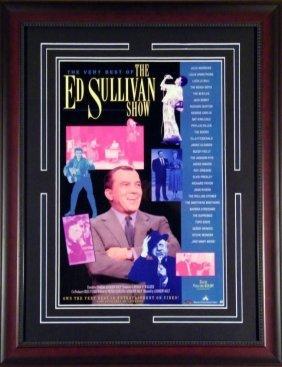 Small Ed Sullivan Poster