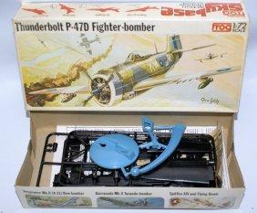 Vintage Frog 1:72 Scale Thunderbolt P-47d Fighter