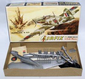 Vintage Airfix 1:72 Hawker Hurricane Iv R.p. Fighter