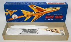 Vintage Hobby-time North American F-100a Super Sabre