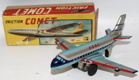 Vintage 1950's Tin Litho Friction Boac Comet Dh C-8