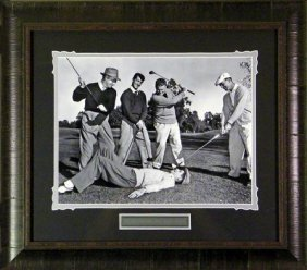 Snead, Martin, Boros, Hogan & Lewis (the Caddy)