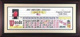 Tiger's 97 Masters Scoresheet