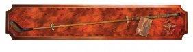 Historic Scottish Golf Horizontal Wood