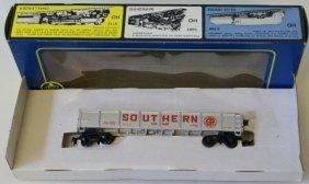 Vintage Ahm Rivarossi Ho Scale Southern Gondola Coal