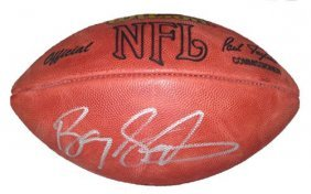 Barry Sanders Autographed/signed Official Wilson