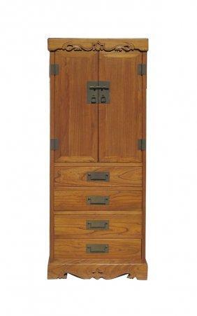 Chinese Oriental Storage Dresser Cabinet Wk2618s