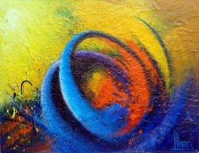 Abstract-mixed Media Modern Art
