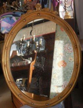 Spectacular Federal Style Gilt-wood Designer Mirror