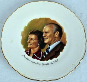 Vintage Presidential Collector Plate