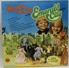 Vintage 1974 Wizard Of Oz Emerald City Playset W/ Box &