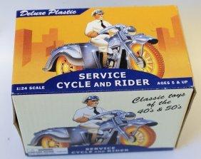 Dimestore Dreams 1:43 Scale Service Cycle & Rider