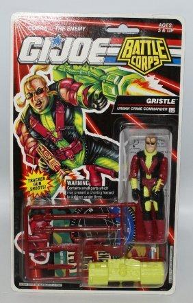 Original 1992 Gi Joe Battle Corps Commander Gristle