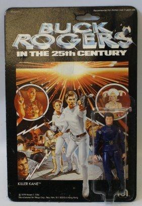 """Vintage 1979 Mego Buck Rogers Killer Kane 3.75"""" Action"""