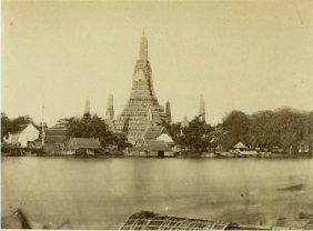 Temple Of Dawn, Bangkok, Siam