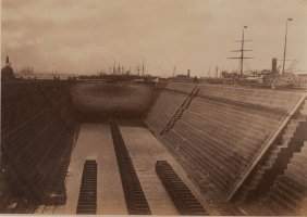 Alfred Graving Dock, Williamstown, Victoria, Australia.