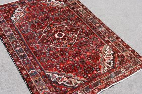Highly Detailed Hand Woven Persian Lilian, 5.2 X 7.2