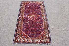 Very Beautiful Hand Woven Semi-antique Persian Sarouk,