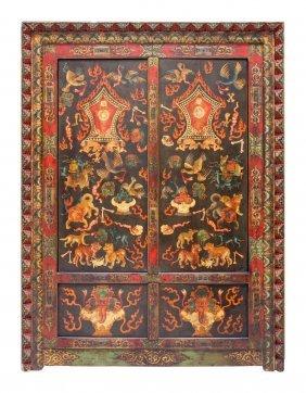 Tibetan Cabinet Gonkhang