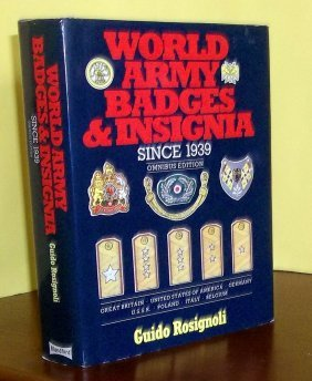 Hc W/ Dj World Army Badges & Insignia Since 1939