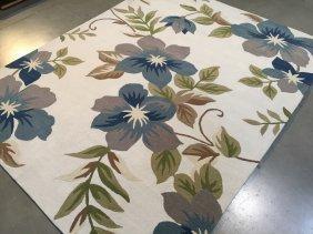 5x8 Premium Quality Hand-made Tropical Designer Rug