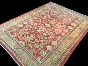 8x11 Super Zighler Hand Knotted Rug