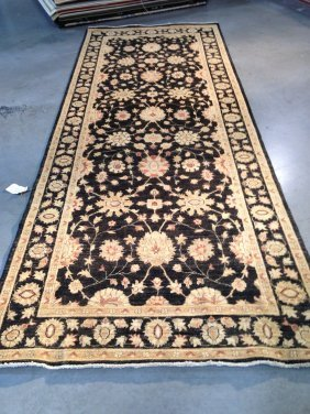 High Quality 4x11 Super Zighler Hand Knotted Rug