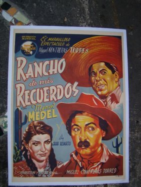 "Movie Poster ""rancho De Mis Recuerdos"" 1946"