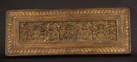 Old Buddhist Manuscript Cover