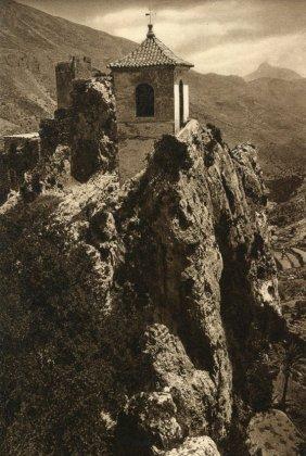 Hielscher, Kurt - Guadalest Castle, Spain