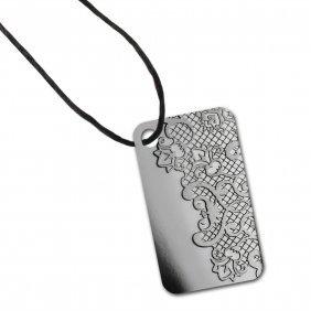 Calais Lace - 10 Gram Silver Pamp Ingot Pendant