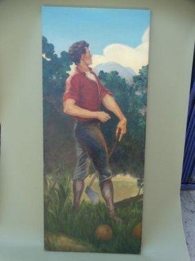Portrait Of A Woodsman