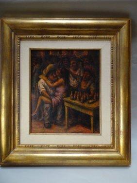 Benito Messeguer (1930-1982) The Dark Corner Of The