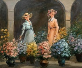 Simply Magnificent European Impressionist Painting