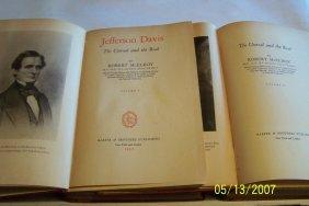 Robert Mcelroy, Jefferson Davis, Two Volumes